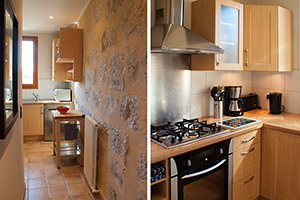 Apartement at La Turbie, Cote d'Azur, well equipped kitchen